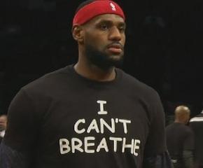 Lebron James, Reggie Bush stand with I Can't BreatheProtestors